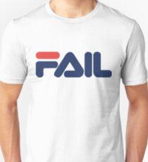 red and blue fail fila T-Shirt