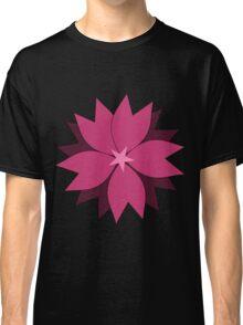 Pink vector flower digital art Classic T-Shirt
