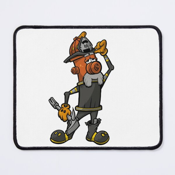 Salty - Hero Hydrants Mouse Pad