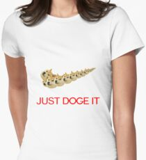 Just Doge It Womens Fitted T-Shirt