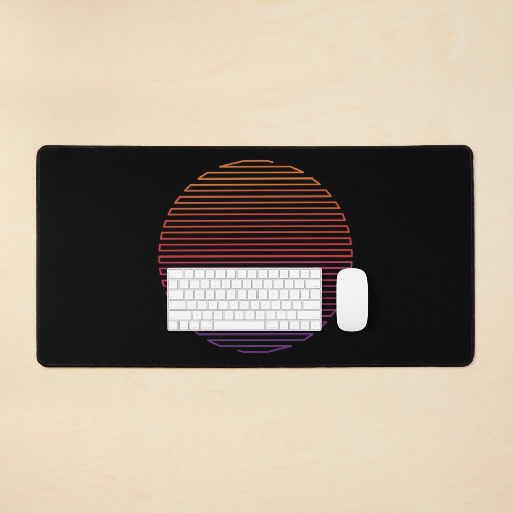 Linear Light Mouse Pad