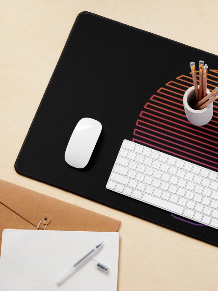 Alternate view of Linear Light Mouse Pad