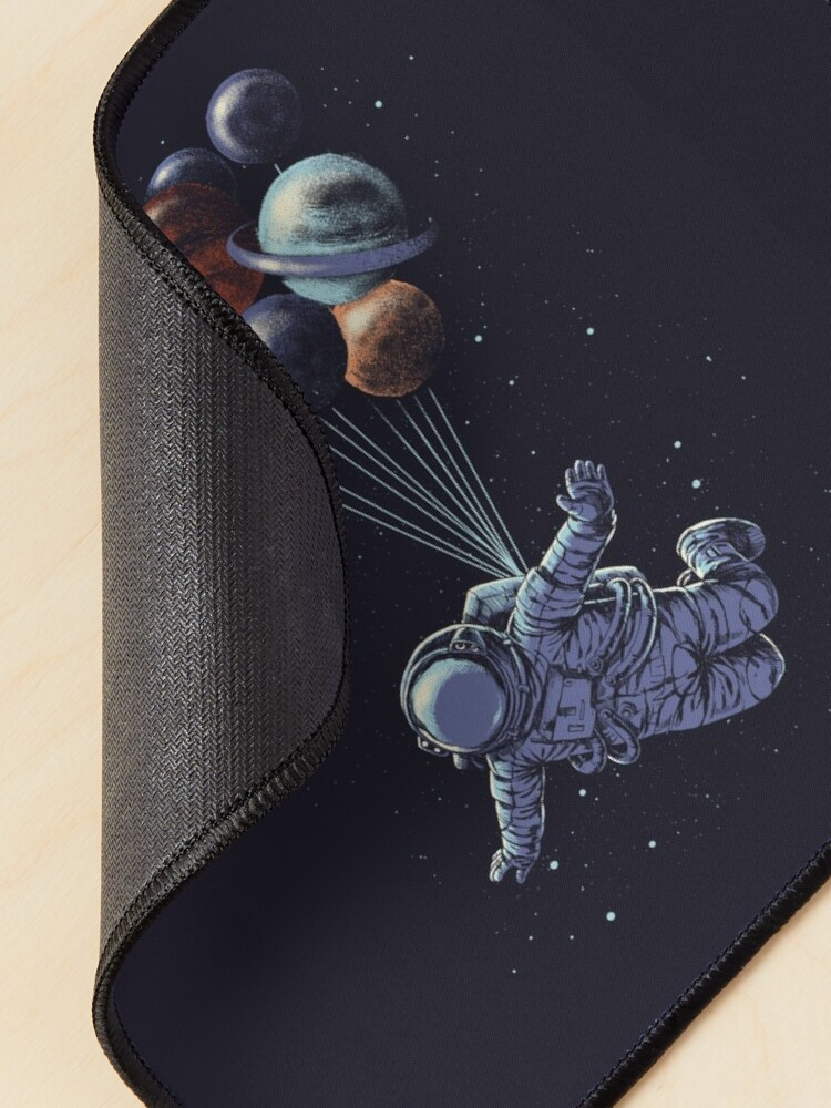 Alternate view of Space Travel Mouse Pad