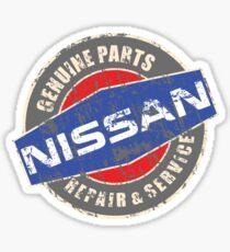 Vintage Nissan Repair Sticker
