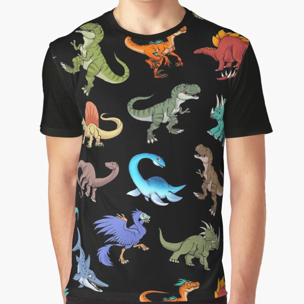 Dinosaurs and prehistoric Beasts group Graphic T-Shirt
