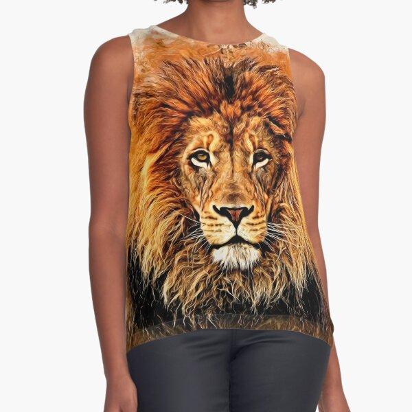 Liquid Lion Sleeveless Top