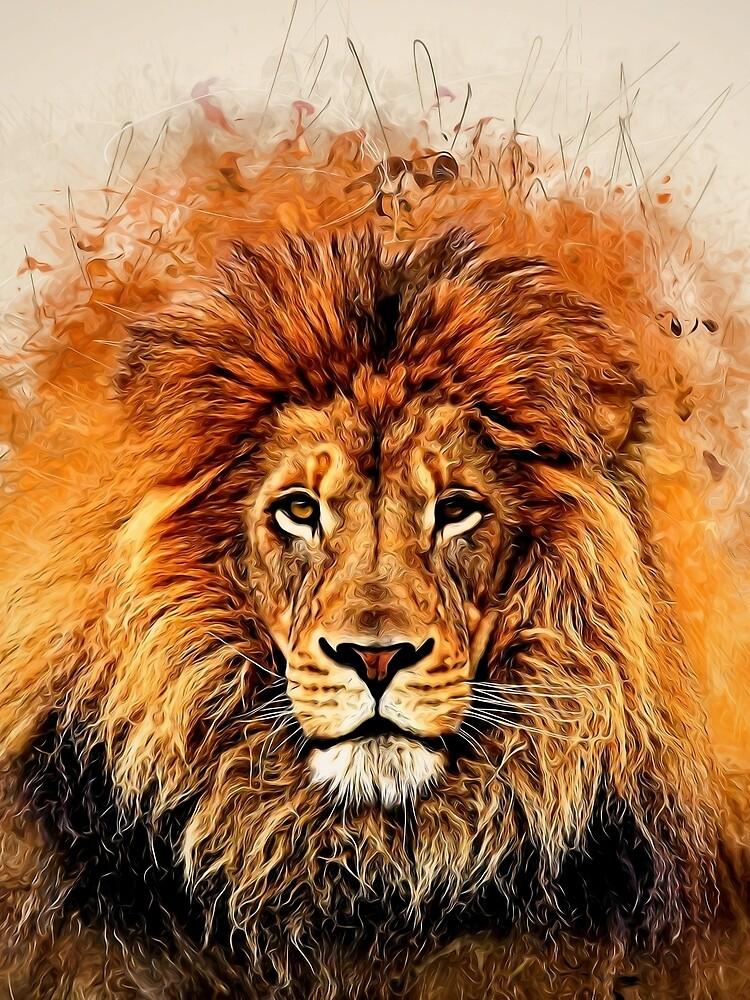 Liquid Lion by rcurtiss000