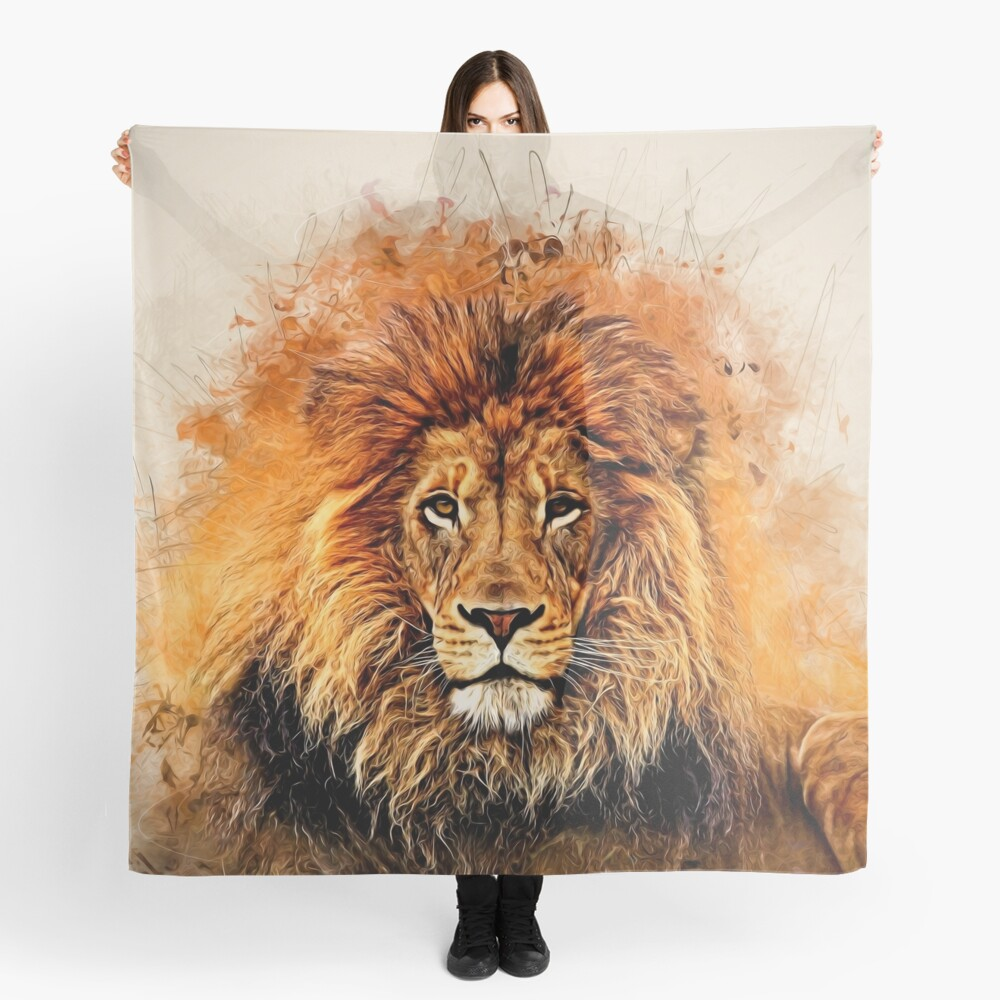 Liquid Lion Scarf