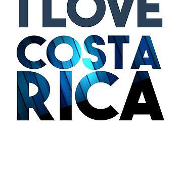 I Love Costa Rica by 3vanjava