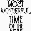 Es ist die schönste Zeit des Jahres von kjanedesigns