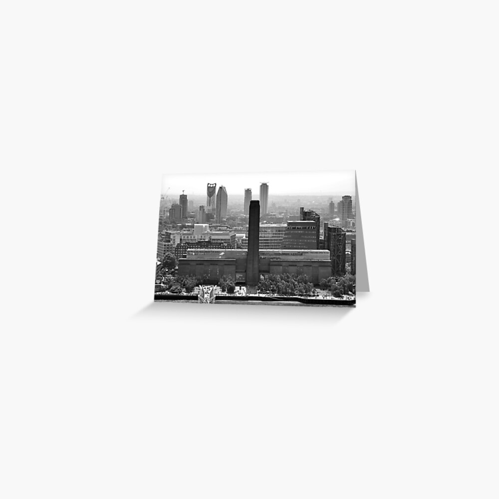 View of the Tate Modern Art Gallery, London Greeting Card