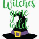 Hexen wild gegangen von kjanedesigns