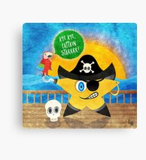 Aye Aye Captain Starrrr! Canvas Print
