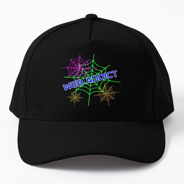 Web addict design Baseball Cap