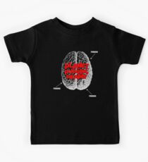 Planet Of The Pudding Brains Kids Tee