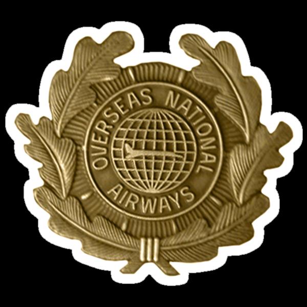 Vintage Airline Badge by meredithjean