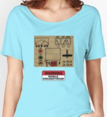 Mobile Dreamatorium Control Board (Community) Women's Relaxed Fit T-Shirt