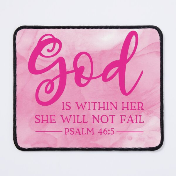 Girl Inspired God Within Mouse Pad