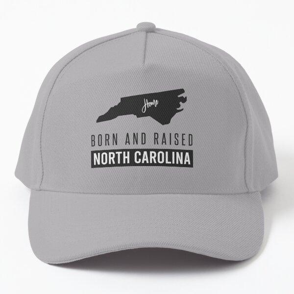 Born And Raised North Carolina Baseball Cap