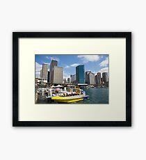 Sydney Circular Quay Australia Framed Print
