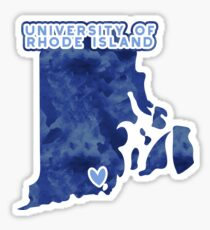 University of Rhode Island - Style 3 Sticker