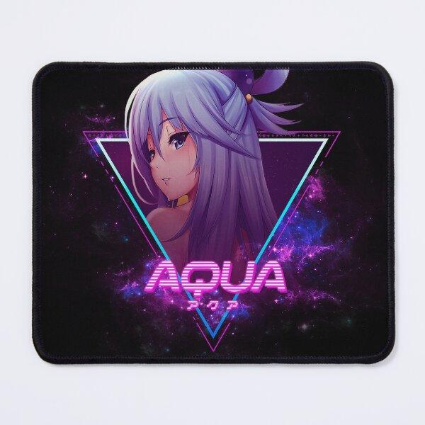 Kono Subarashii Sekai ni Shukufuku o! (Aqua アクア Aesthetic) Mouse Pad