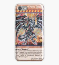 Darkness metal dragon iPhone Case/Skin