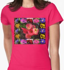 Memories of Sunnier Days Floral Collage T-Shirt