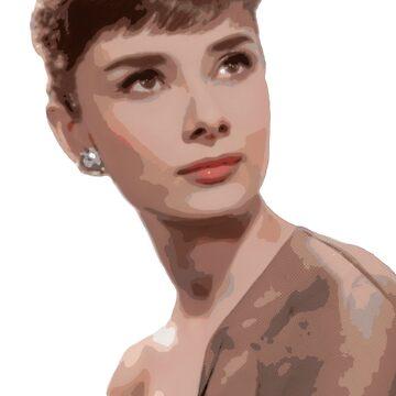 Posterizado, Audrey pesado de TellAVision
