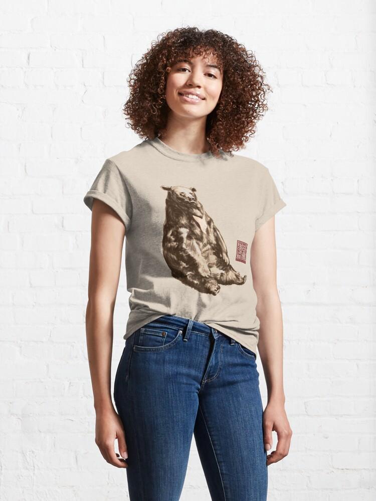 Alternate view of Lazy Sun Bear Classic T-Shirt