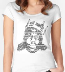 Biggie It Was All A Dream (White) Women's Fitted Scoop T-Shirt