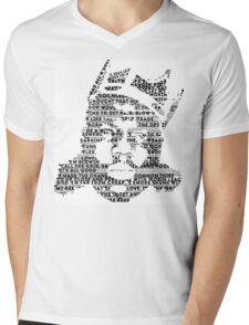 Biggie It Was All A Dream (White) Mens V-Neck T-Shirt