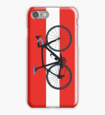 Bike Flag Austria (Big - Highlight) iPhone Case/Skin