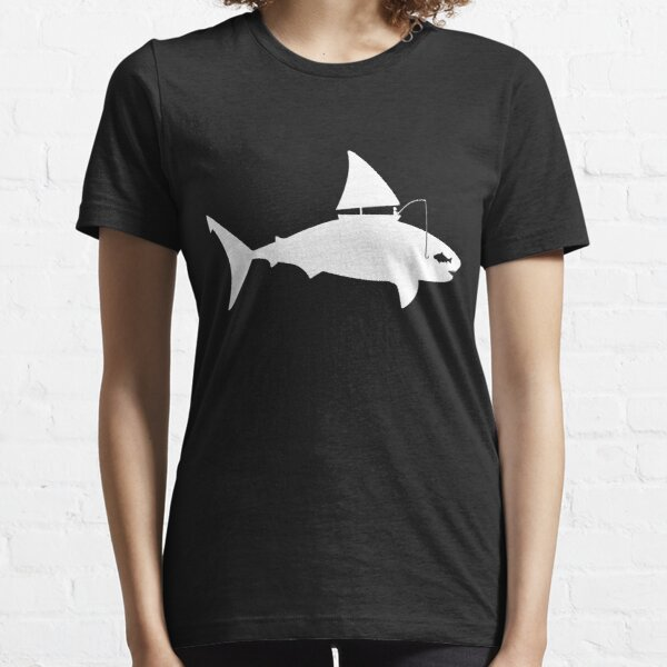 A fin day for fishing: WHITE Essential T-Shirt