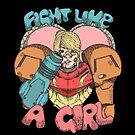 Fight Like A Girl - Samus Aran (Metroit) by Seignemartin