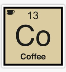 Co Coffee Element Sticker