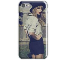 Taylor swift red cover iPhone Case/Skin