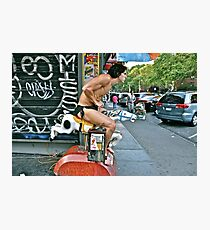 ESCAPE FROM NEW YORK TARZAN Photographic Print