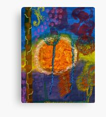 Fireworks - Abstract Canvas Print