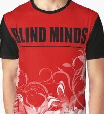 Blind Minds Floral Graphic T-Shirt