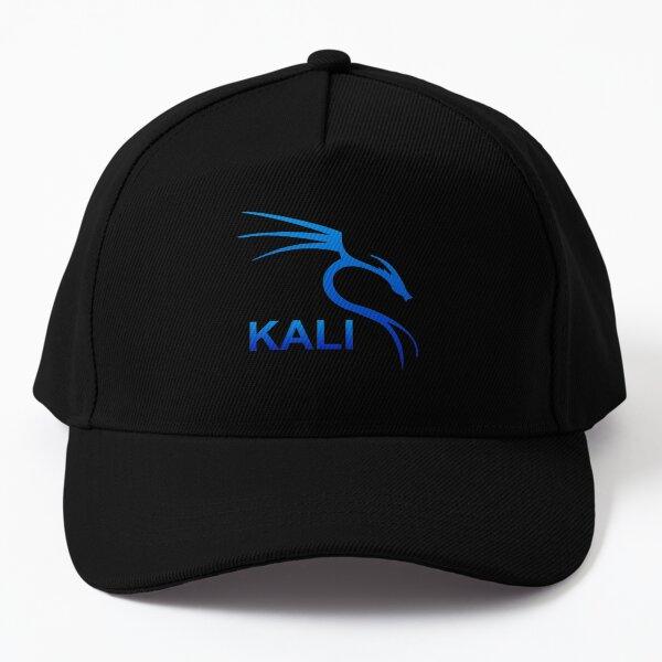 Kali Linux (Blue Gradiant - With name)  Baseball Cap