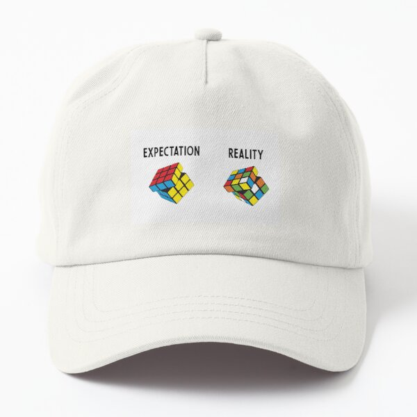 Expectation V Reality Dad Hat