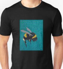 White tailed Bumblebee - Bombus Lucorum Unisex T-Shirt