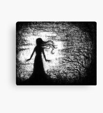 There Is Something Haunting In The Light Of the Moon Canvas Print