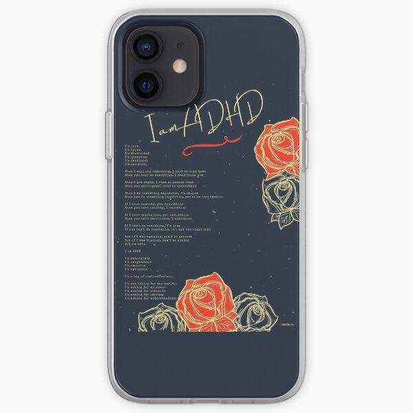 I am ADHD  iPhone Soft Case