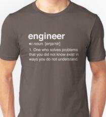 Camiseta ajustada Funny Engineer Definition