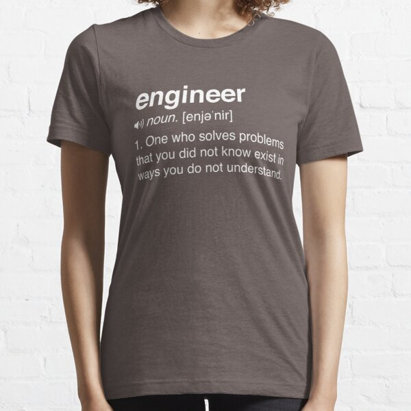 Funny Engineer Definition Essential T-Shirt