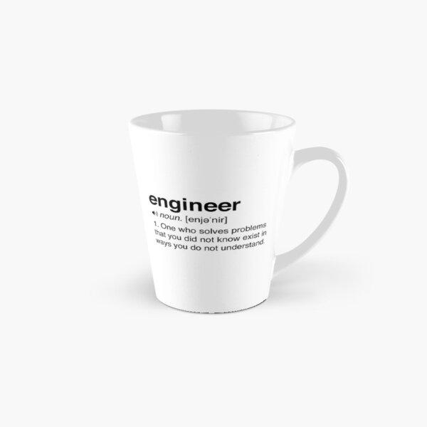 Funny Engineer Definition Tall Mug