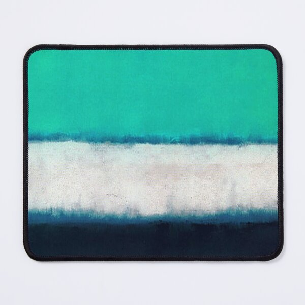 Mark Rothko  Green White Blue ,mark rothko painting#4 Mouse Pad
