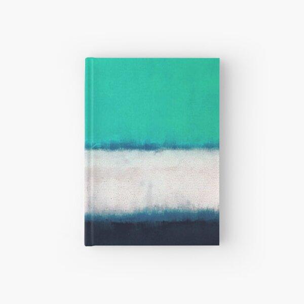 Mark Rothko  Green White Blue ,mark rothko painting#4 Hardcover Journal